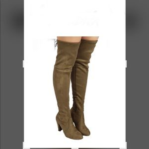 Wild Diva Lounge Over the Knee Boot
